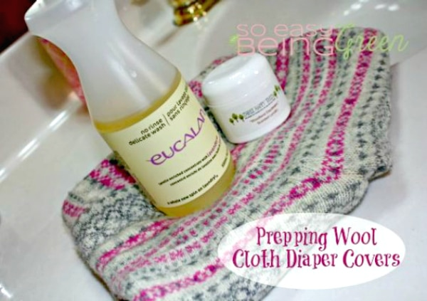How to Lanolize Wool Soakers Tutorial