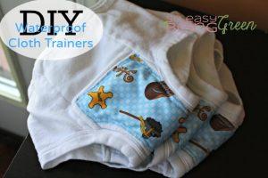 DIY Cloth Training Pants