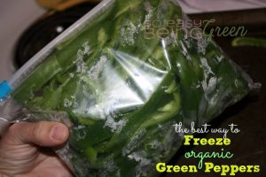 How to Freeze Peppers from Your Garden