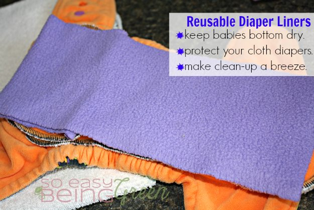 reusable diaper liners pros