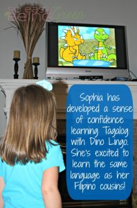 My Toddlers are Learning Tagalog with the Dino Lingo Language Learning Program