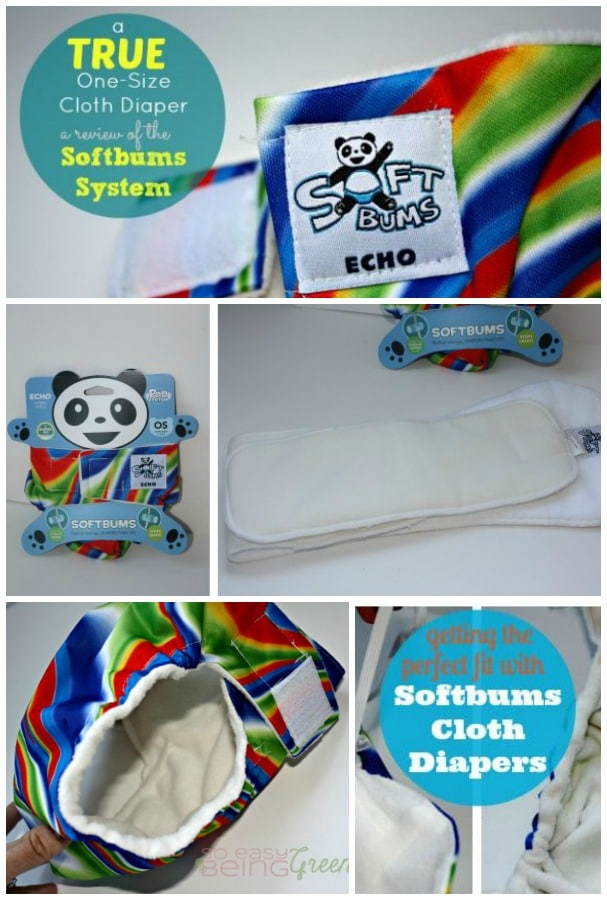 Softbums Review of One Size Cloth Diaper System