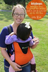 Introducing Bitybean – The Most Travel Friendly Baby Carrier I Own