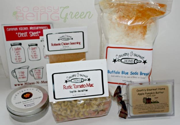 Easy to make gourmet food mixes from country gourmet home for Gourmet meals to make at home