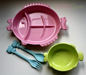 Bento Lunch at Home on Eco Friendly Toddler Tableware