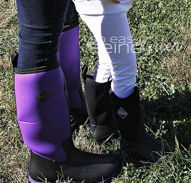 Just Like Mommy: Stylin&39 in Our Original Muck Boots
