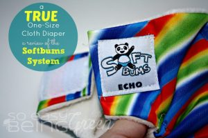 A TRUE One-Size Cloth Diaper: a Review of the Softbums System