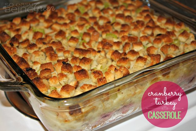 Turkey Casserole - Thanksgiving Leftovers