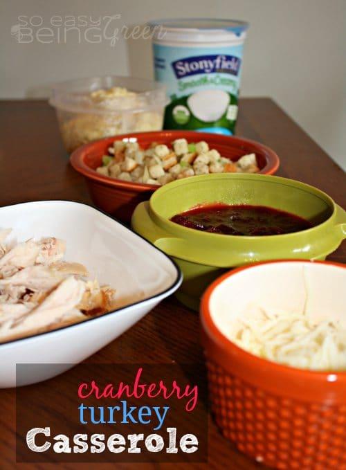cranberryturkeycasserole
