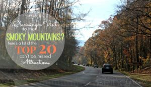 Top 20 Smoky Mountains Attractions that You Do NOT Want To Miss [part 1]