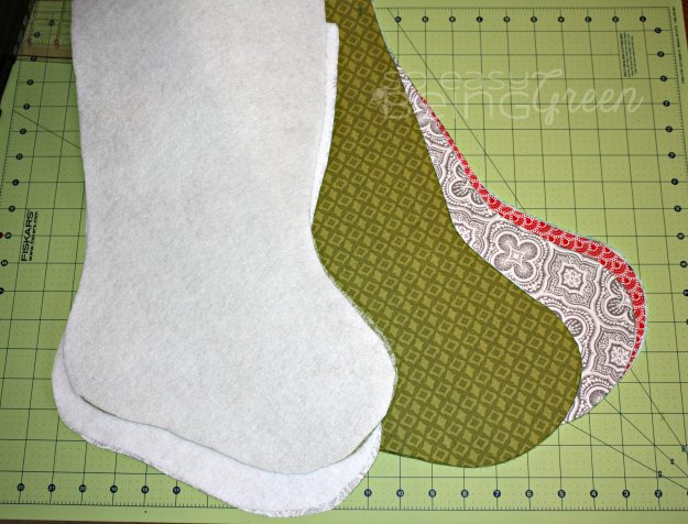 A Christmas Stocking Tutorial For Beginners Free Pattern