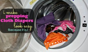 Fluffy Friday: Prepping Cloth Diapers and Prepping Natural Fibers
