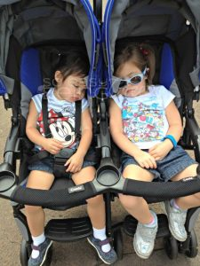 How the Combi Twin Cosmo Stroller Made Our Disney Trip a Breeze