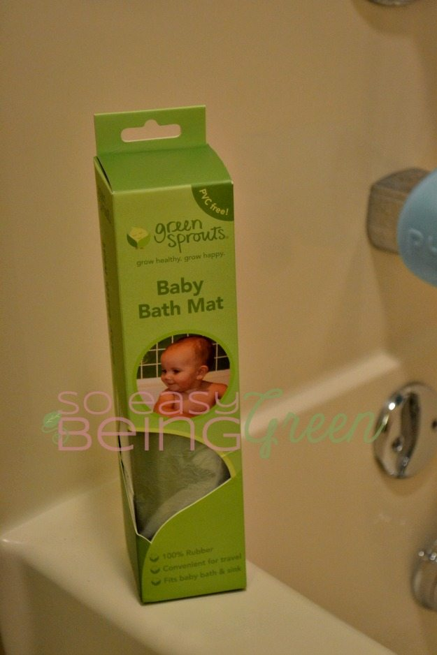 IPlay Green Sprouts Baby Bath Mat
