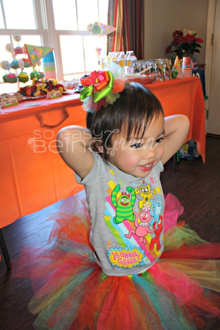 Yo Gabba Gabba Birthday Girl