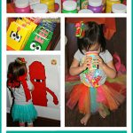 Yo Gabba Gabba Birthday Party collage