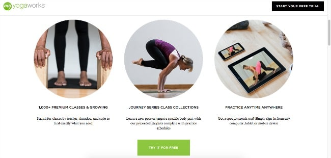 My Yoga Works Review - online yoga classes in your home