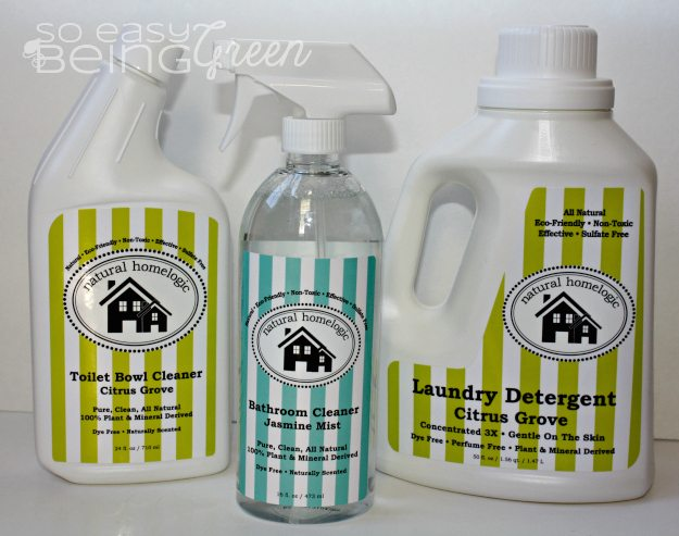 Natural Homelogic Cleaning Products