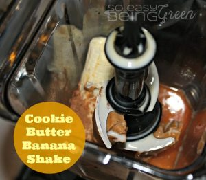 Cookie Butter Banana Shake