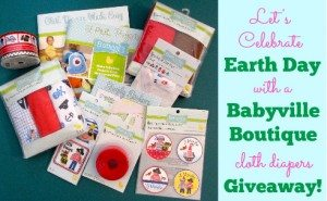 DIY Cloth Diapers with Babyville Boutique