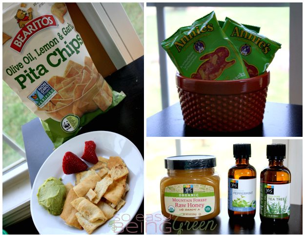 Whole Foods Snacking Collage