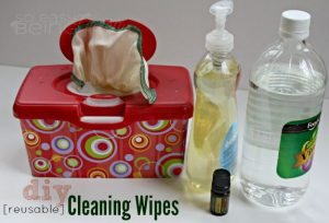 Reusable DIY Cleaning Wipes [featuring Lemon Essential Oil from doTERRA]