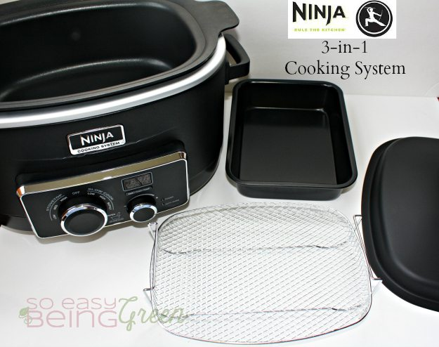 Ninja Cooking System Components