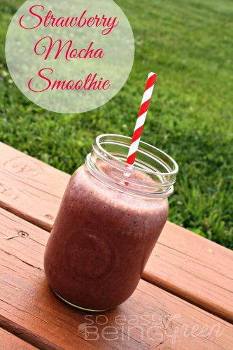 Strawberry Mocha Smoothie