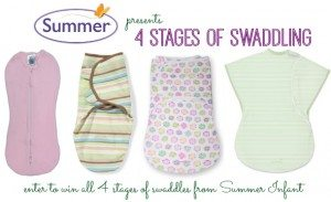 Summer Infant Swaddles Giveaway