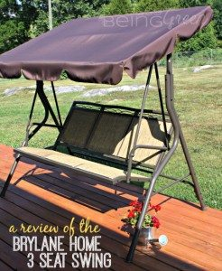 Brylane Home Swing Review