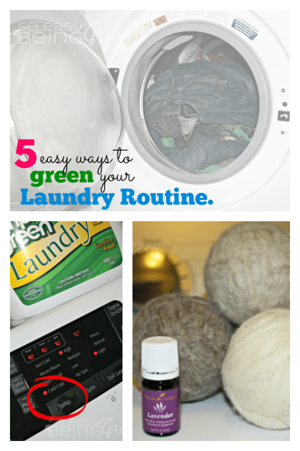 Green Laundry Routine