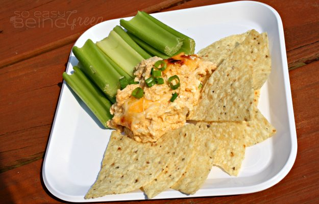 Picnic Buffalo Chicken Dip