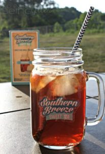 Southern Breeze Sweet Tea Mason Jar