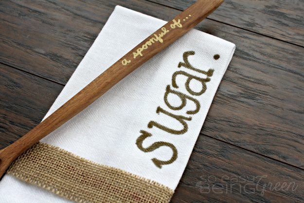 Spoonful of Sugar Tea Towel