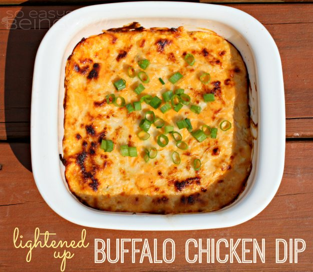 lightened up Buffalo Chicken Dip