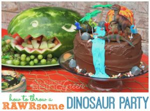 RAWRsome Dinosaur Party