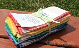 Cloth Wipes and Paper-Less Towels from Gina's Soft Cloth Shop
