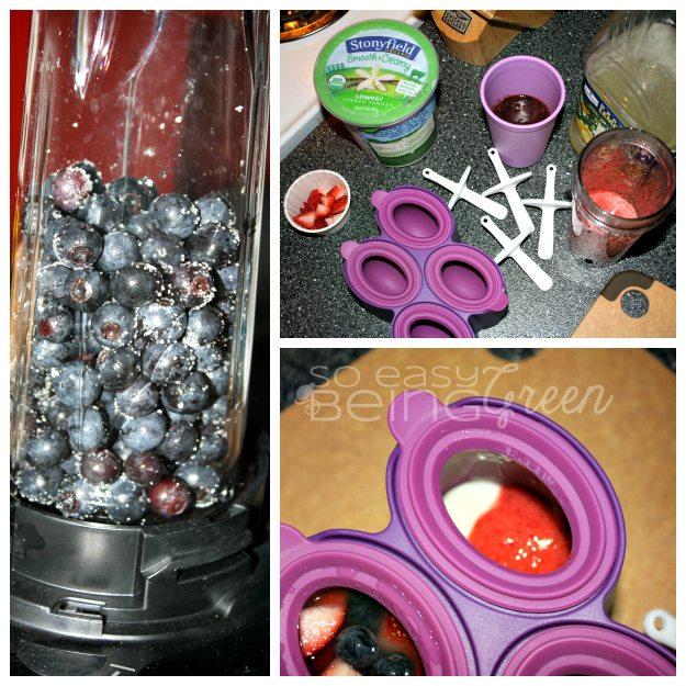 Yogurt Pops Collage