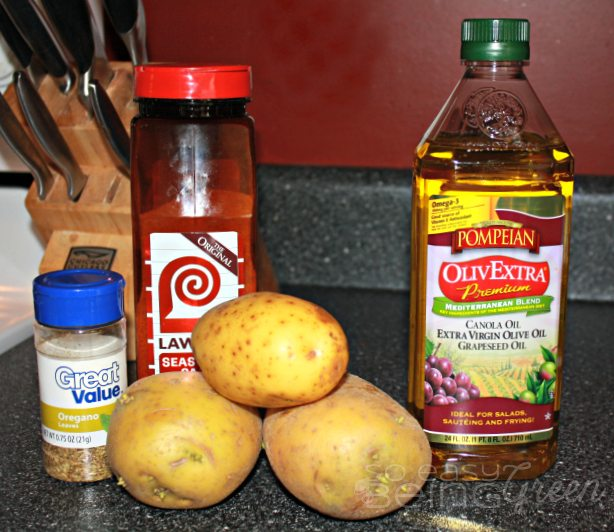 Roasted Potatoes with Pompeian Olive Oil
