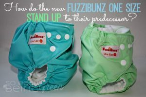 How Do the NEW FuzziBunz One Size Cloth Diapers Stand Up?