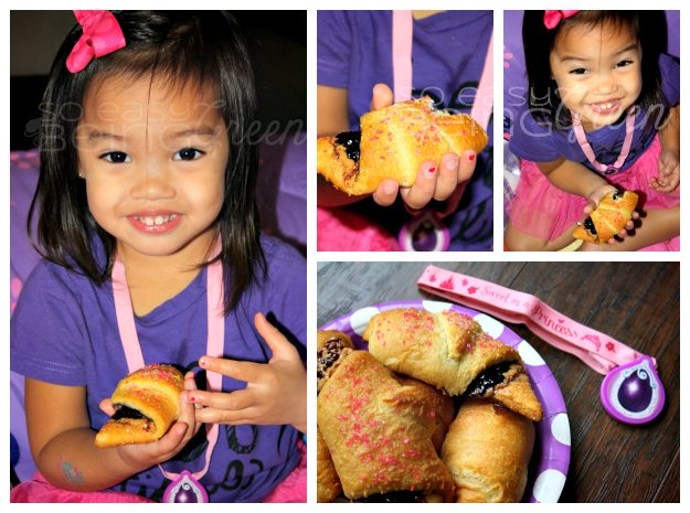Princess and Her Scones Collage