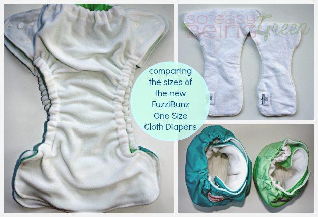 Sizing FuzziBunz Collage