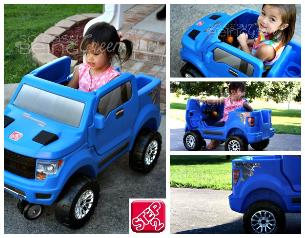 Step2 ford raptor collage