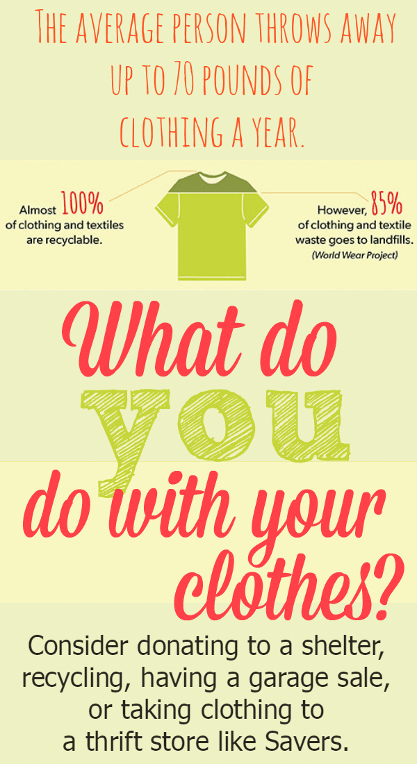 What do you do with your clothes