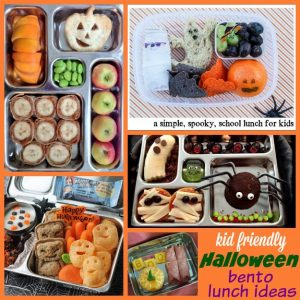 Kid-Friendly Halloween Bento Lunch Ideas