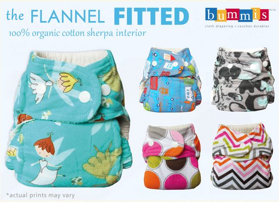 Bummis Flannel Fitted Prints