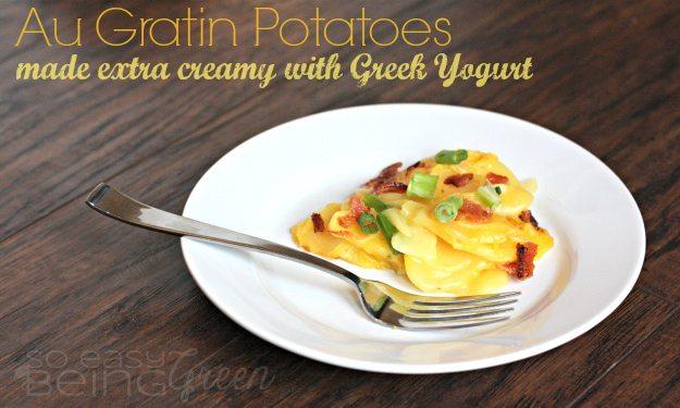 Au Gratin Potatoes with Greek Yogurt Main