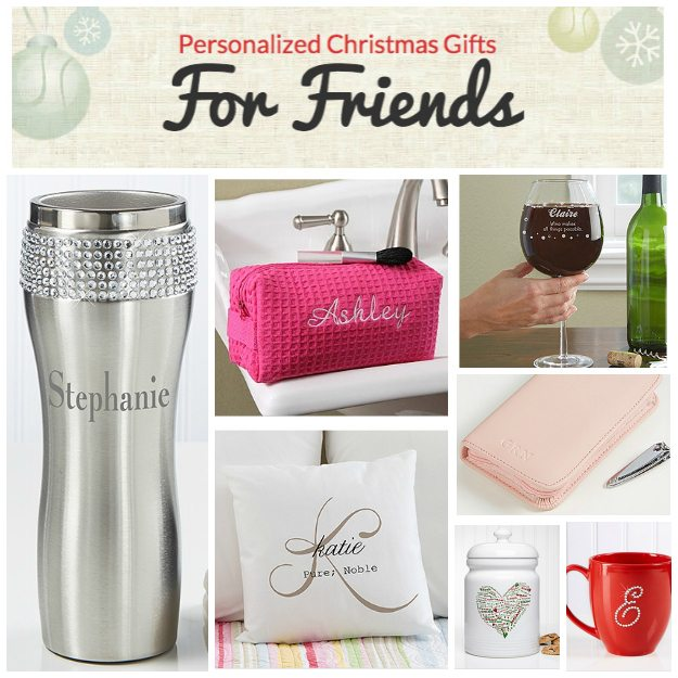 Personalized christmas gifts for friends from personalization mall gift guide for friends negle Choice Image