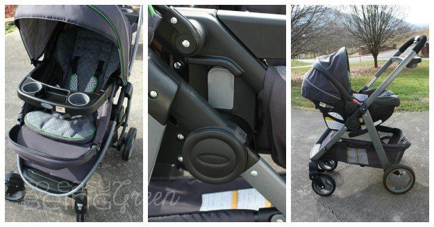 Stroller to Infant Seat Stroller