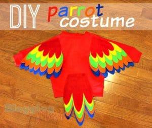 DIY-Parrot-Costume